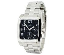 Herren-Armbanduhr Chronograph Quarz Edelstahl M11621-178