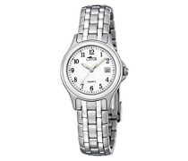 Damen-Armbanduhr Analog Quarz Edelstahl 15151/A