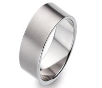Unisex -Ehe, Verlobungs & Partnerringe Ringgröße 54 (17.2) - OR52307/54