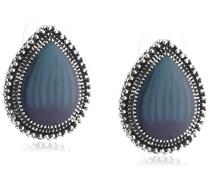 Fashion Unisex-Ohrstecker mit blauen Steinen 420020002