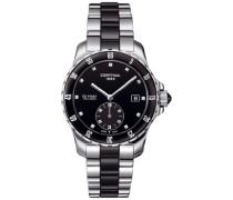 Certina Damen-Armbanduhr XS Analog Quarz Edelstahl C014.235.11.051.01