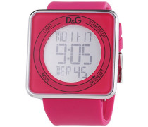 Damen-Armbanduhr XL Digital Quarz Kautschuk DW0737