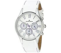 La Passion Damen-Armbanduhr Capri Chronograph Leder 1-1606M