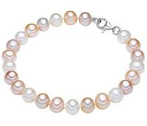 Damen-Armband 925 Silber rhodiniert Perle Süßwasser-Zuchtperle 21 cm - 609210172