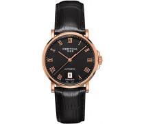 Certina Herren-Armbanduhr XL Analog Automatik Leder C017.407.36.053.00