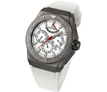 TW Steel Unisex-Armbanduhr CEO TEC Automatik Analog Kautschuk TWCE5002