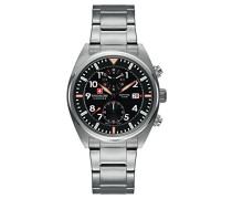 Swiss Military Herren-Armbanduhr Squadron Chrono Analog Quarz SM34222AEU/H01MS