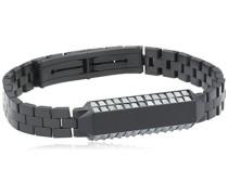 Swarovski Herren Armband Edelstahl Terzio Haematit 19 cm schwarz 5015605
