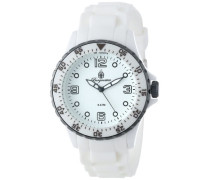 Herren-Armbanduhr XL Analog Quarz Silikon BM603-586B