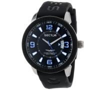 Sector Herren-Armbanduhr Analog Quarz Plastik R3251119001