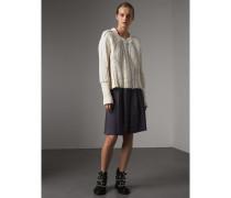Faltenrock aus Leinen und Baumwolle