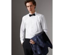 Elegantes Hemd aus Baumwollpopelin mit Durchschussnahtdetails