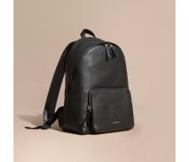 Rucksack aus genarbtem Leder