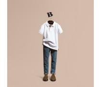 Jeans Aus Stretch-cord