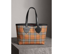 The Medium Giant Tote mit Vintage Check-Muster