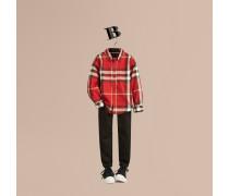 Hemd Aus Baumwolle Mit Check-muster Und Button-down-kragen