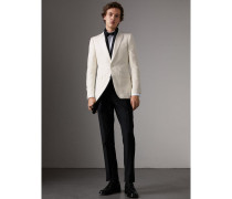 Elegantes Jackett aus Seide mit schmaler Passform
