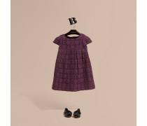 Kleid In A-linie Aus Englischer Spitze