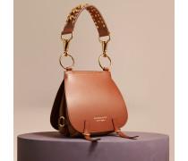 The Bridle Bag aus Leder und Alligatorleder