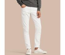 Gerade geschnittene Jeans aus japanischem Stretchdenim