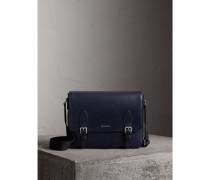 Mittelgroße Messenger-Tasche aus London-Leder