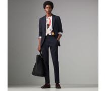 Seersucker-Anzug in Soho-Passform aus Baumwollseide