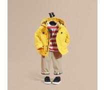 Jacke aus technischer Faser mit Kapuze