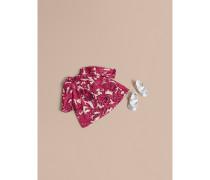 Beasts-Baumwollkleid mit Höschen und Smokdetails