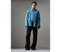Jacke aus Plastik mit weichem Finish