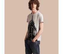 T-Shirt aus Baumwolle mit BigBen-Aufdruck