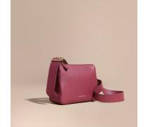 Crossbody-Tasche aus Leder mit Schnallendetail