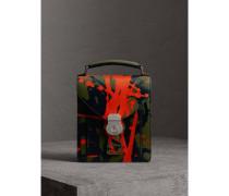 Kleine DK88-College-Tasche im Farbklecks-Design