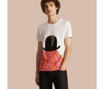 Baumwoll-T-Shirt mit Grafikdruck