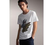 T-Shirt aus Baumwolle mit  Beasts-Motiv