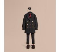 Peacoat Im Military-stil Aus Wolle Und Kaschmir