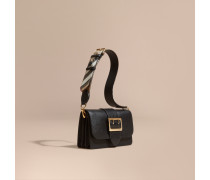 The Small Buckle Bag aus Leder