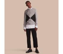 Sweatshirt mit geometrischem Motiv