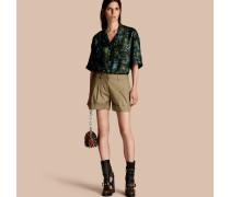 Elegante Shorts aus Stretchbaumwolle