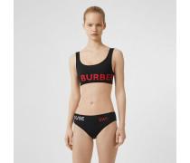 Bikini mit Horseferry-Aufdruck