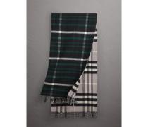 Extragroßer Schal aus Wolle und Kaschmir mit Karomuster