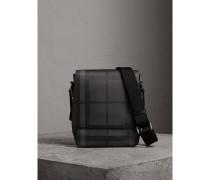Crossbody-Tasche aus London Check-Gewebe