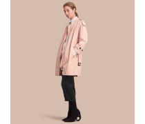 Leichter Mantel mit Rüschen