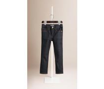 Besonders Schmal Geschnittene Jeans In Indigo