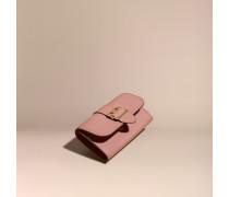 Brieftasche aus strukturiertem Leder im Kontinentalformat