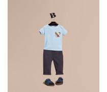 T-Shirt mit Karotasche