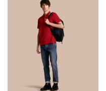 Leger geschnittene Jeans aus japanischem Stretchdenim