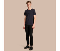 Baumwoll-T-Shirt mit Aufdruck