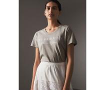 T-Shirt aus Baumwolle mit Aufdruck