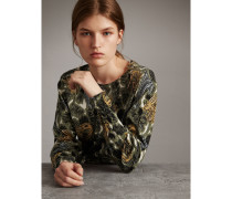 Pullover aus Baumwolle mit  Beasts-Aufdruck