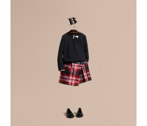 Kilt Aus Wolle Mit Check-muster